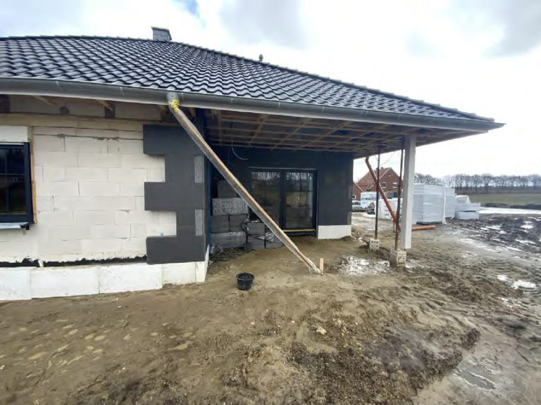 Read more about the article Berge: Hier entsteht ein Bungalow.